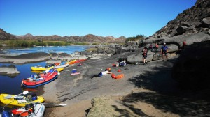Orange River  Rafting Camp